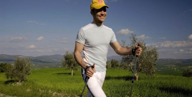 Nordic walking at Adler Thermae