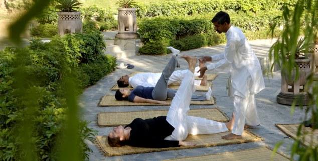 Yoga at Ananda