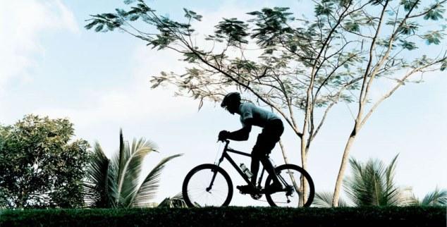 Cycling at Como Shambhala