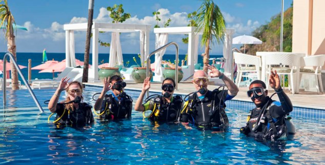 Diving at The BodyHoliday
