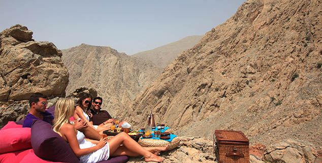 Zighy Bay mountain picnic