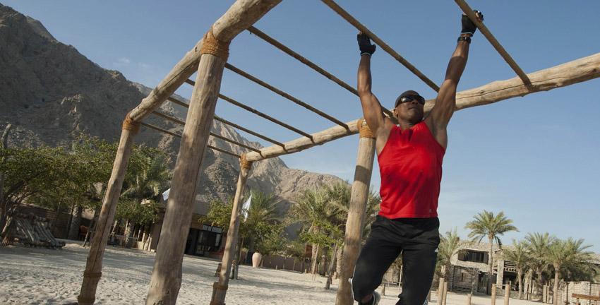 Jungle Gym at Zighy Bay