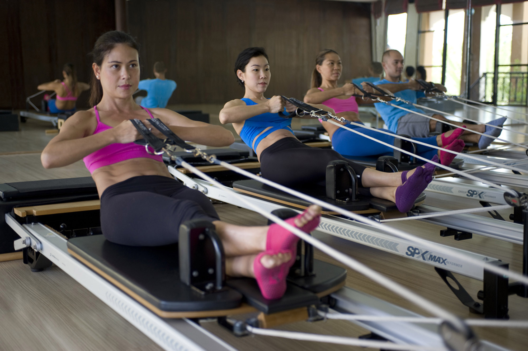Reformer Pilates at Absolute Sanctuary in Thailand