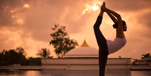 sunset yoga at absolute sanctuary