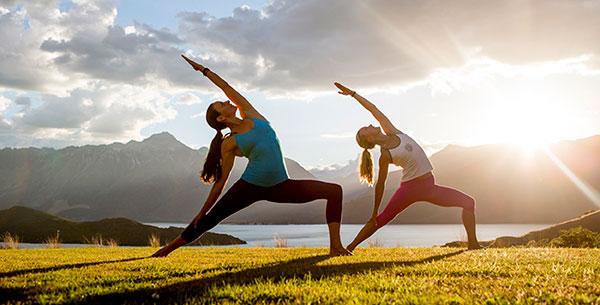 Yoga at Aro Ha