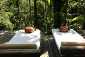 Como Shambhala Estate, Bali - outside spa treatment area