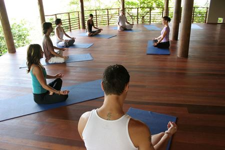 Kamalaya Yoga Class, Koh Samui