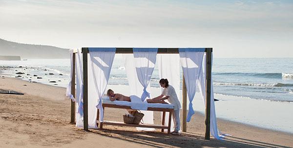 paradise plage yoga spa