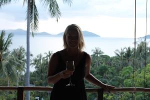 Samantha after her healthy holiday in Kamalaya, Thailand