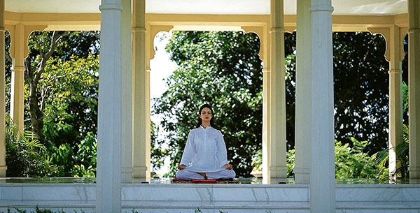 Meditation at Ananda