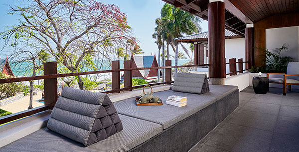 Chiva Som CHampaka Suite Terrace