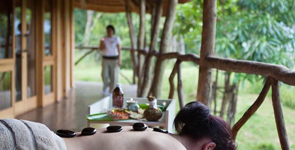 Hot stone massage at Karkloof
