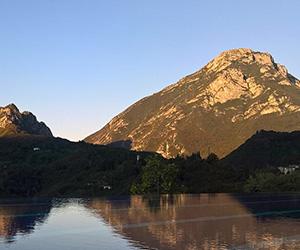 lake garda mountain