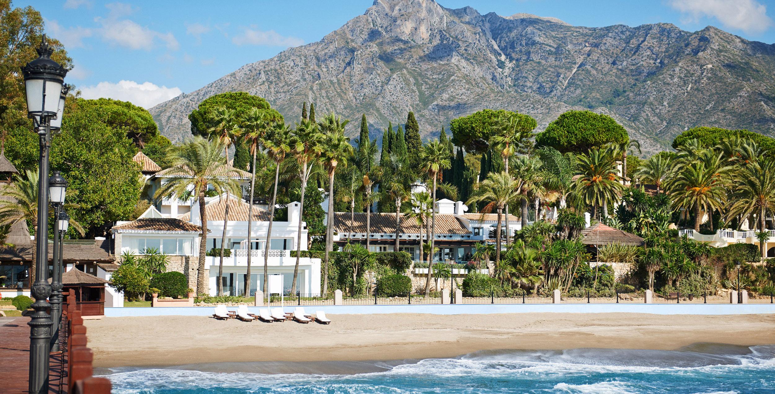 Marbella club exterior