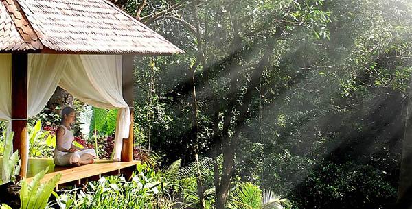 Meditation at Maya Ubud