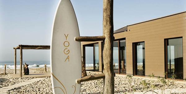 outdoor yoga surf beach