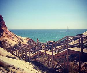 epic sana beach walkway