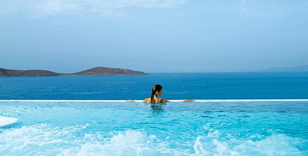 Thalassotherapy pool Porto Elounda